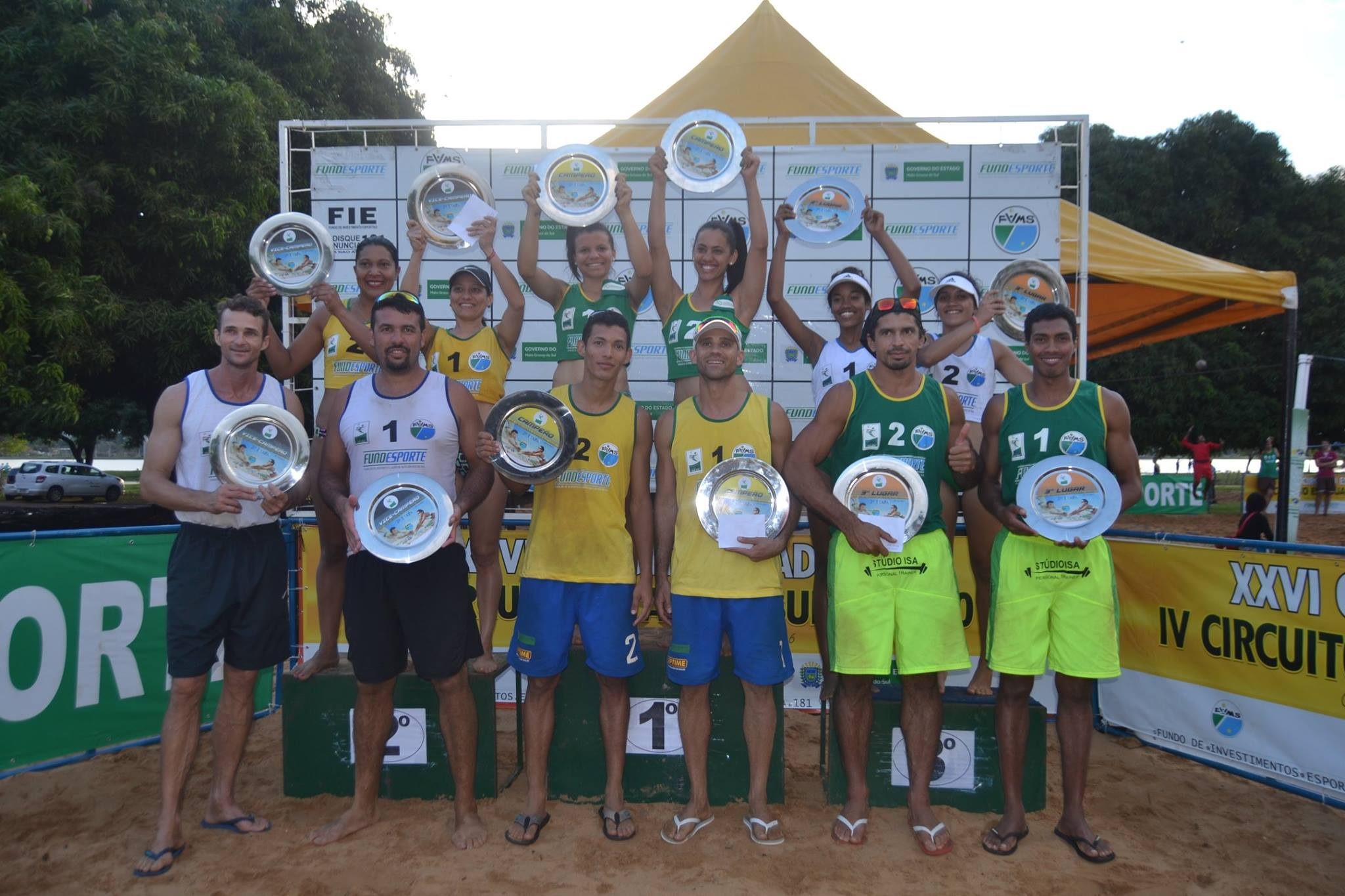 1ª Etapa 2016/2017  - Três Lagoas - MS